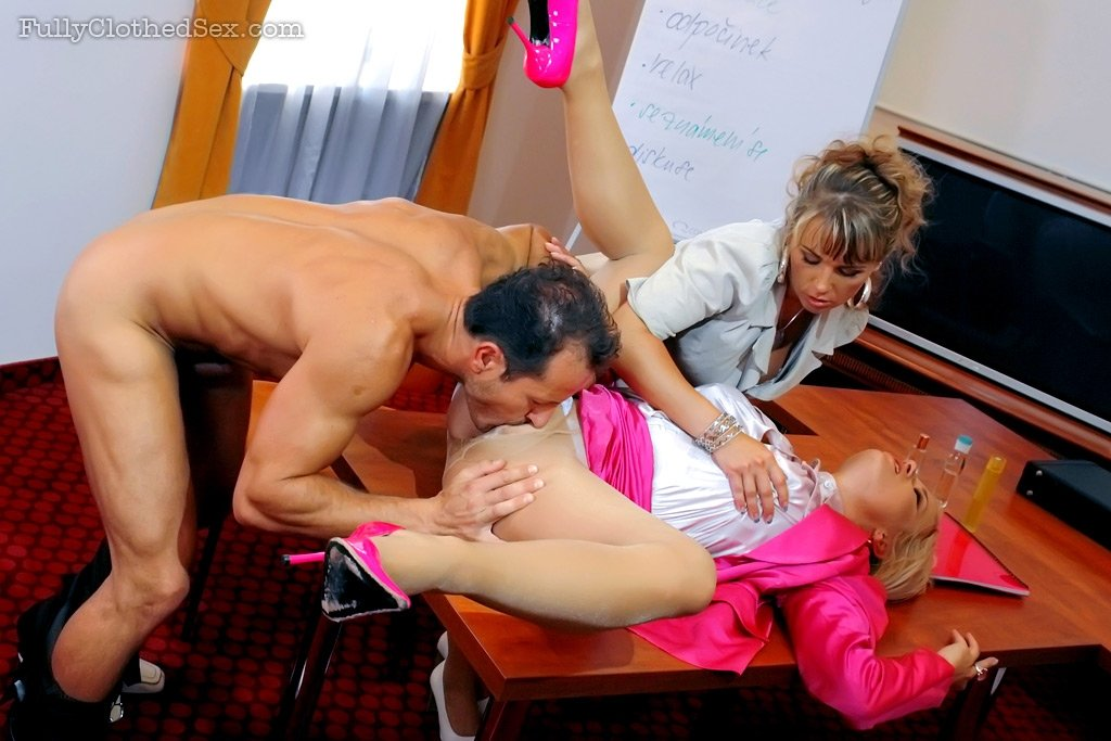 Wife drains hubby cock