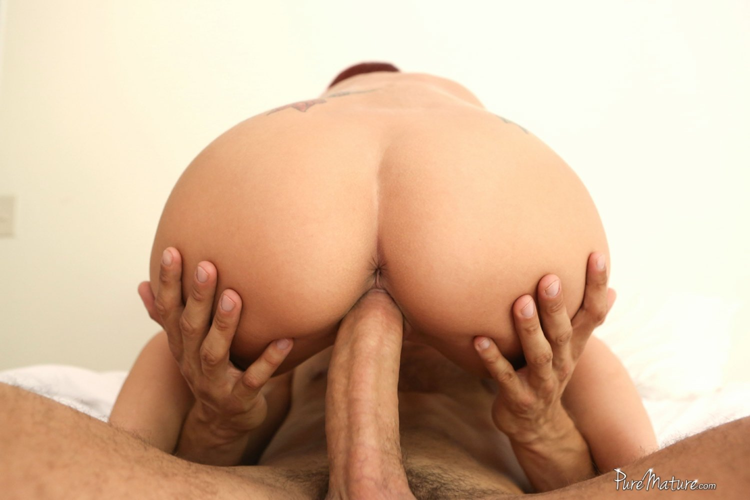 painful anal big dick huge all natural tits and a creampie