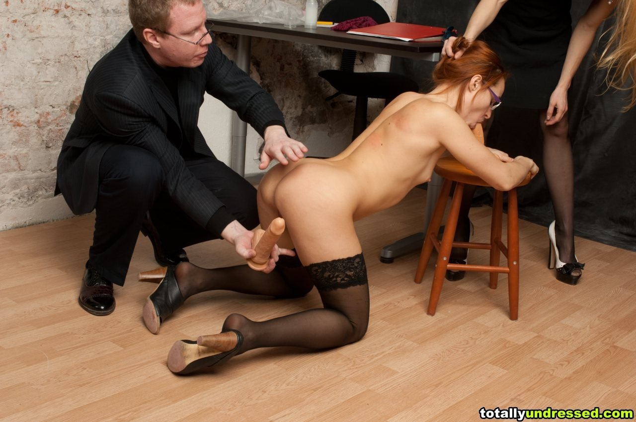 Wife forced to fuck boss