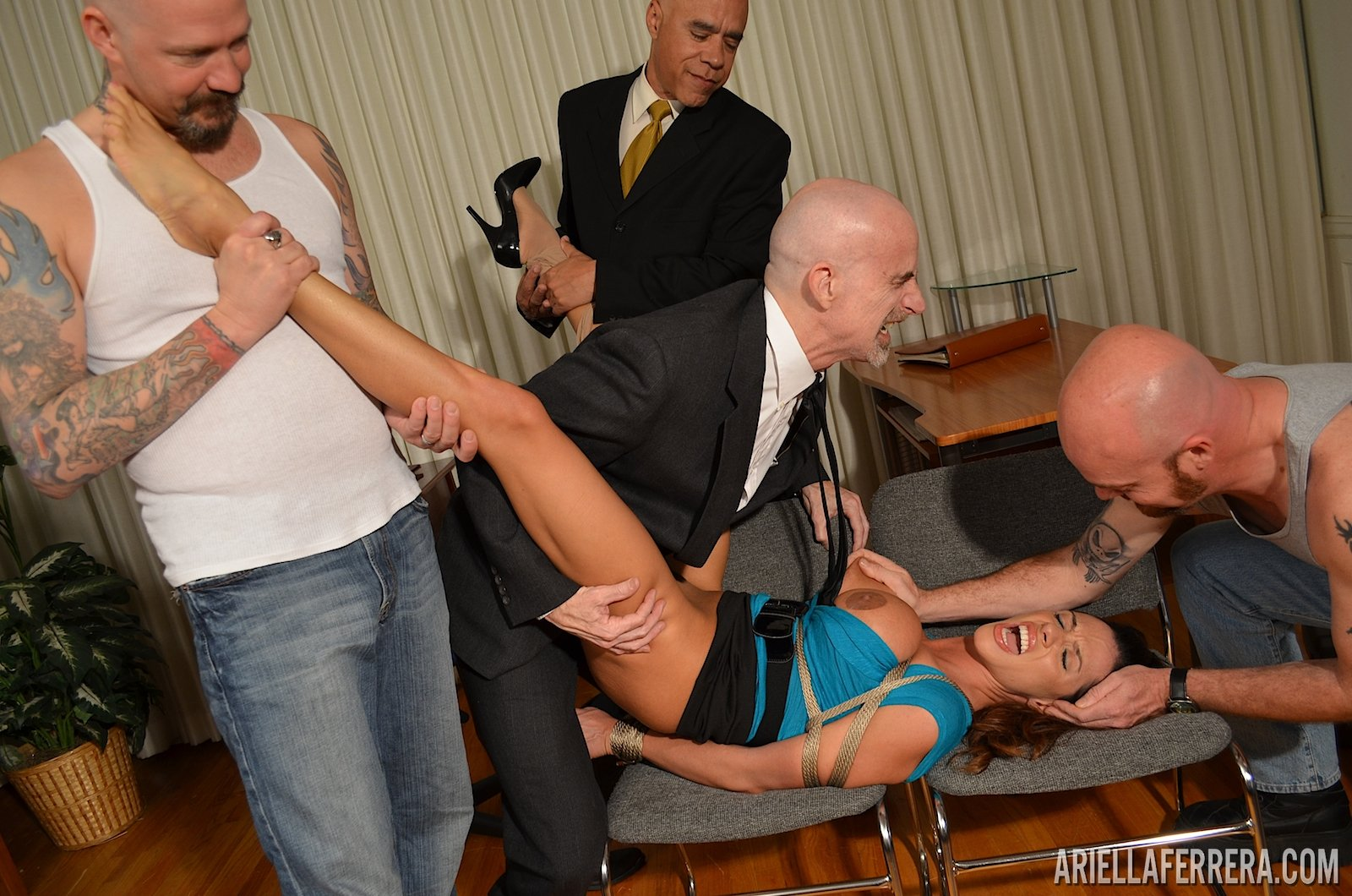 Bound up at the beatch twinks have fun 9