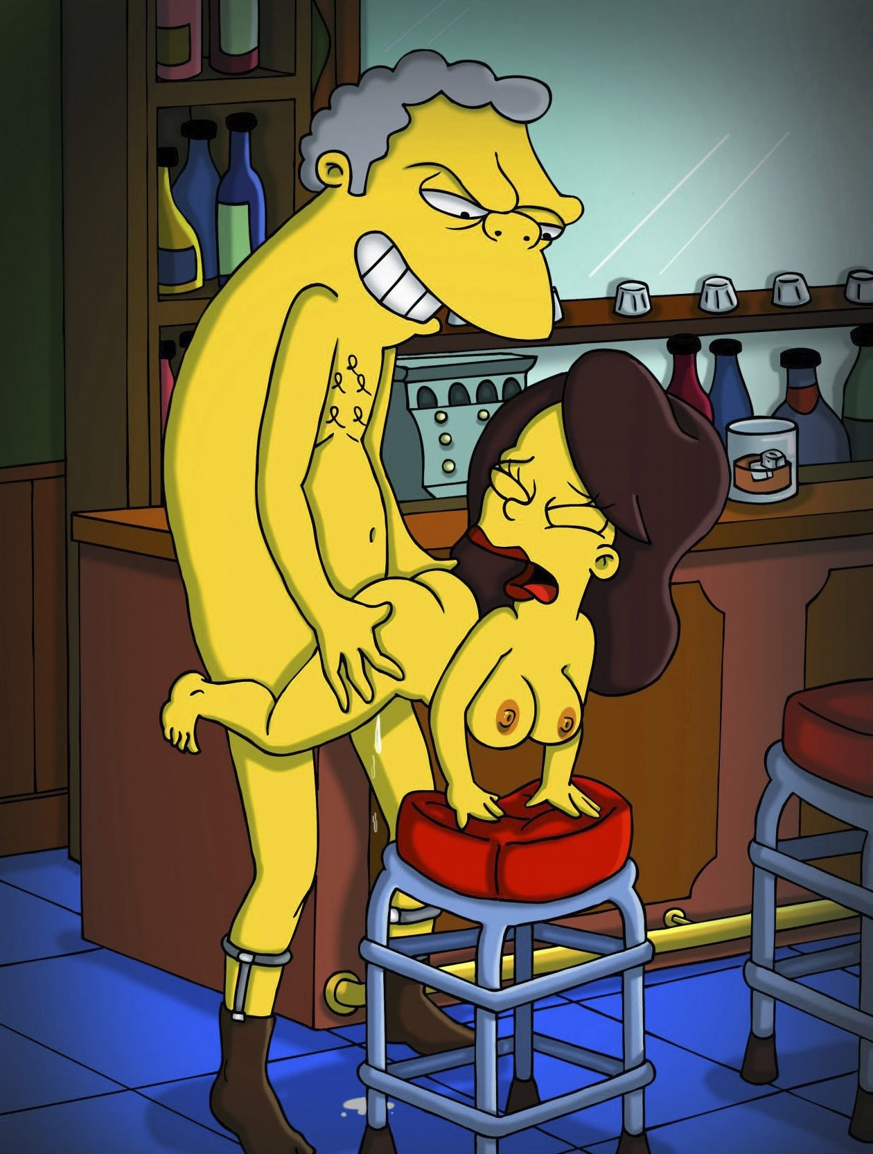 The simpsons hot sexy porn, girl jerk off dildo