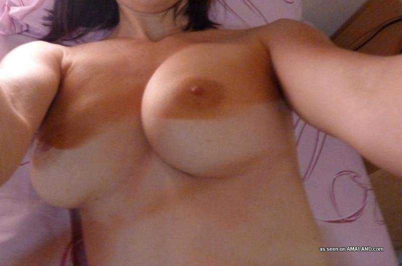 small empty saggy breasts