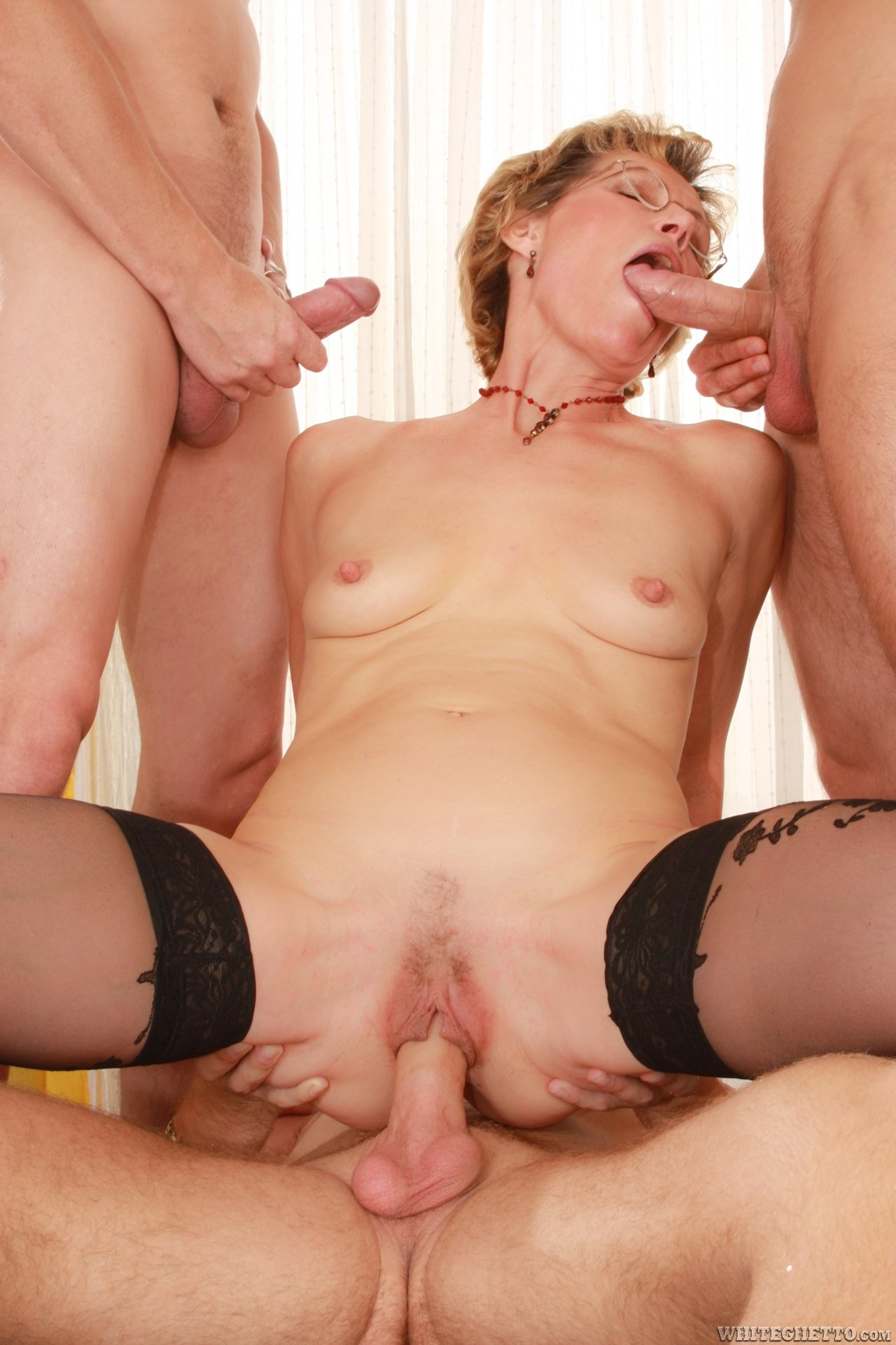 submissive anal mature there