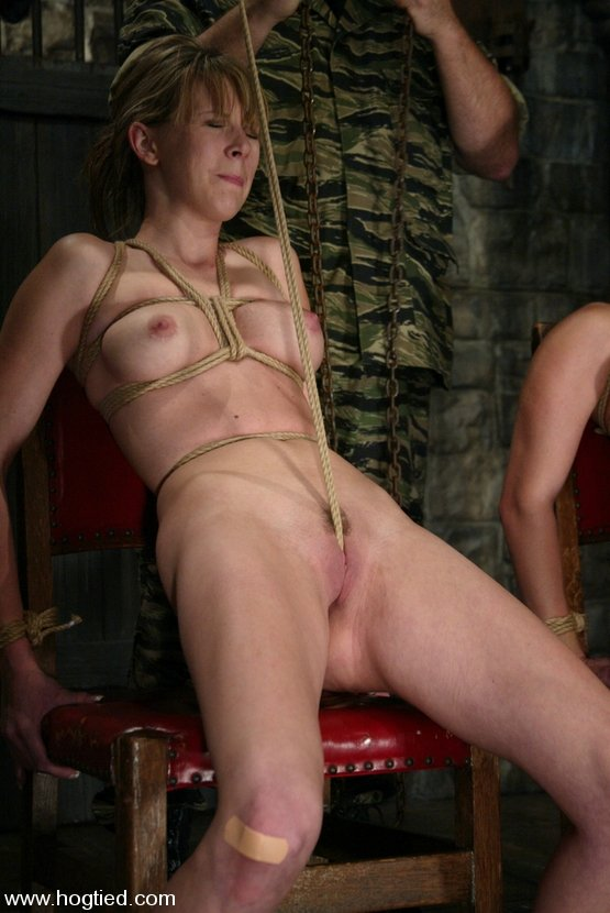 Shaved Pussy And Crotch Rope
