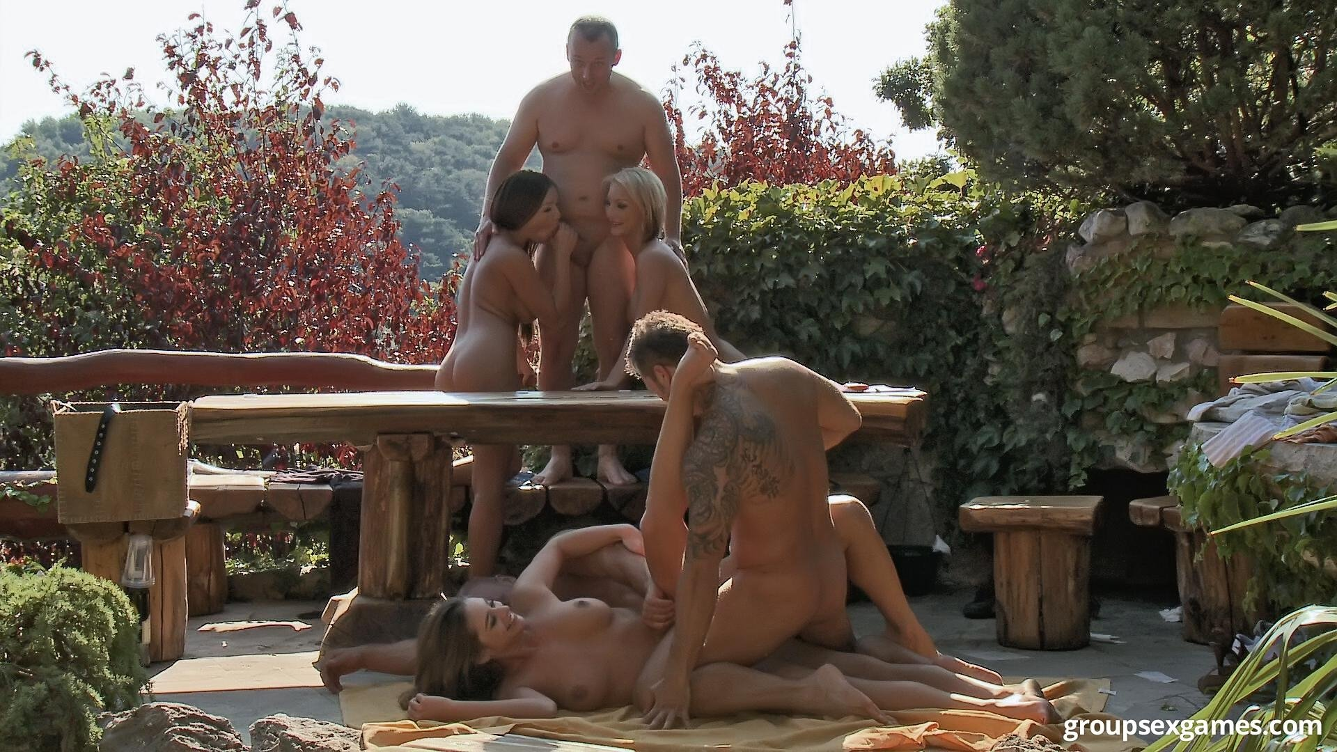 Mature group sex pictures #1