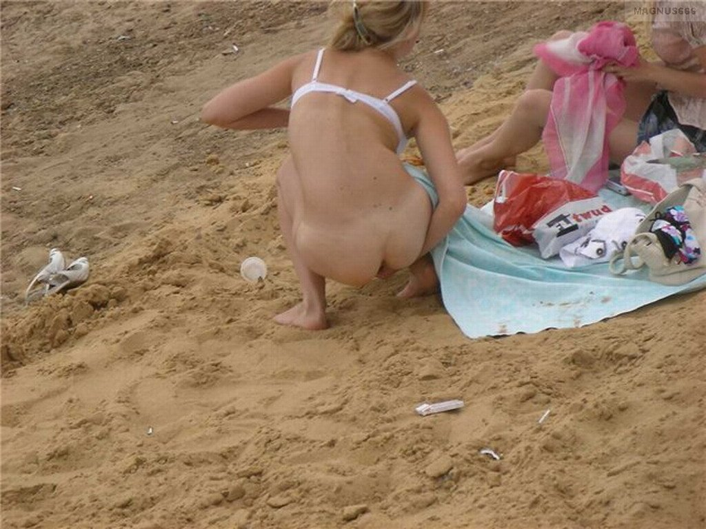 Peeing on the beach video perry nude
