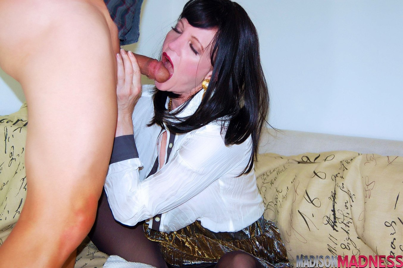 Lonely beautiful wife falls prey to husbands practice boss nikls
