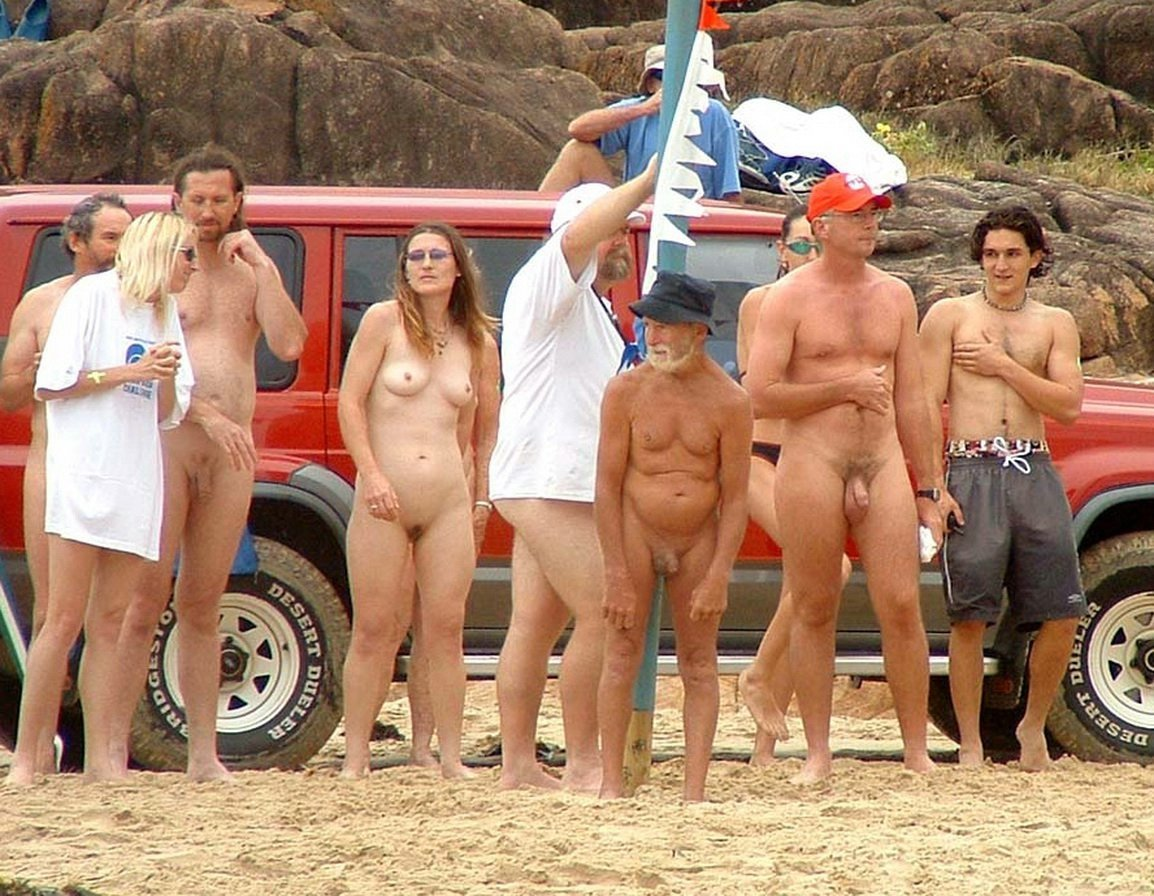 American nudist camp