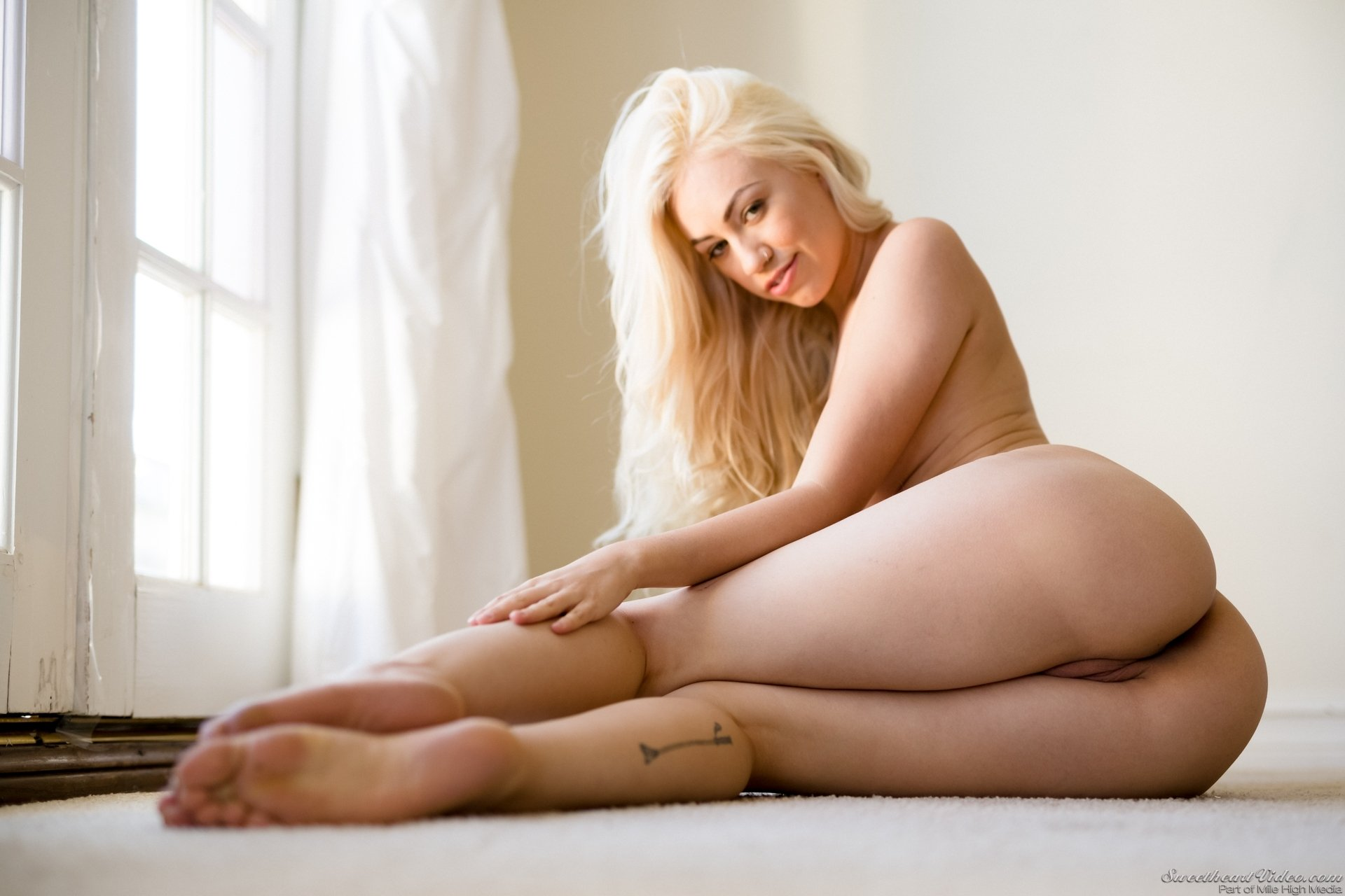 best of sexy blonde in pink