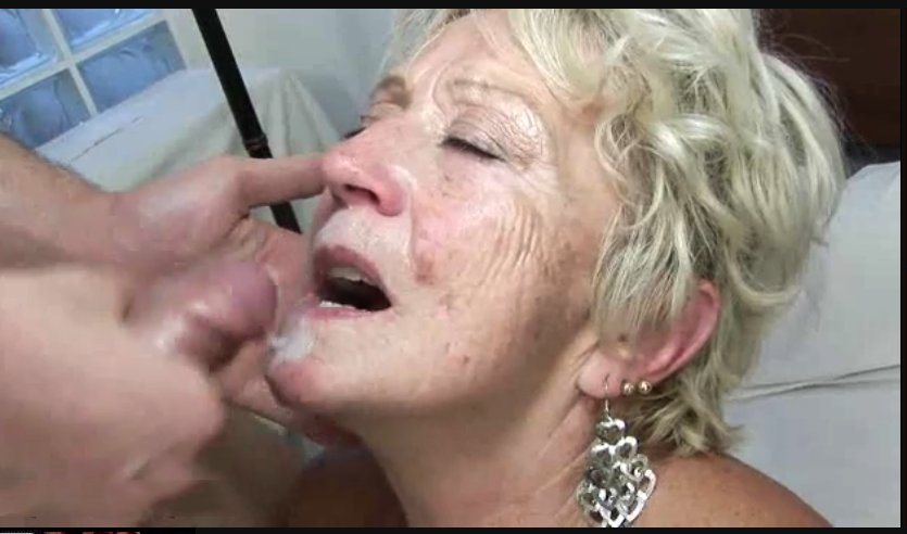 Homemade granny facial #1