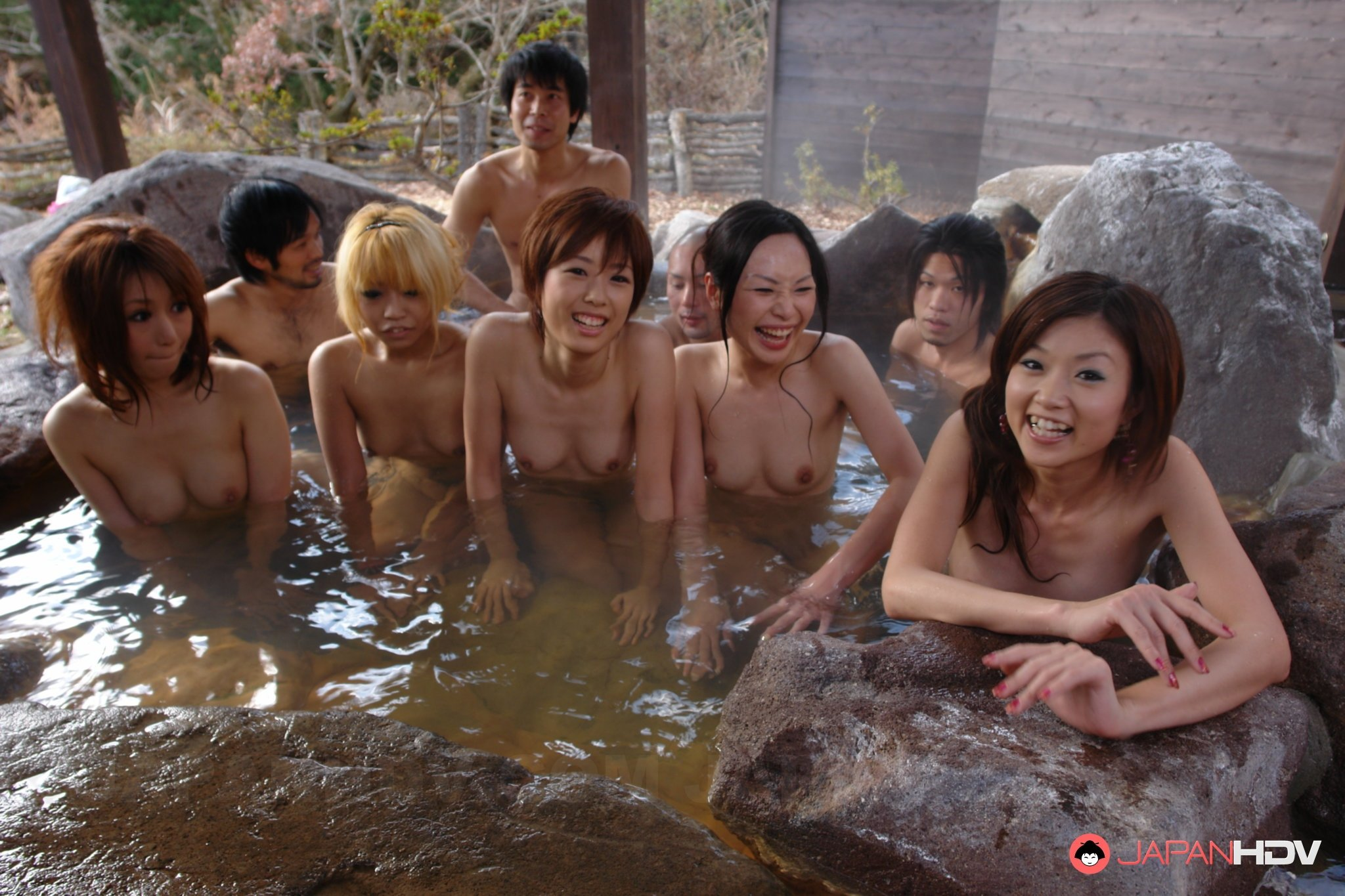 orgy with one girl