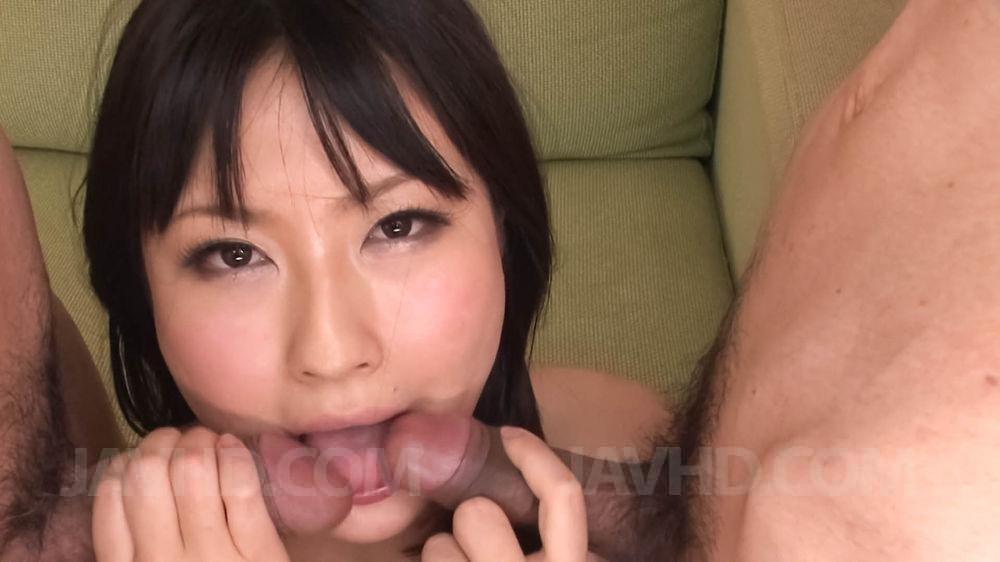 Threesome with mature couple #1