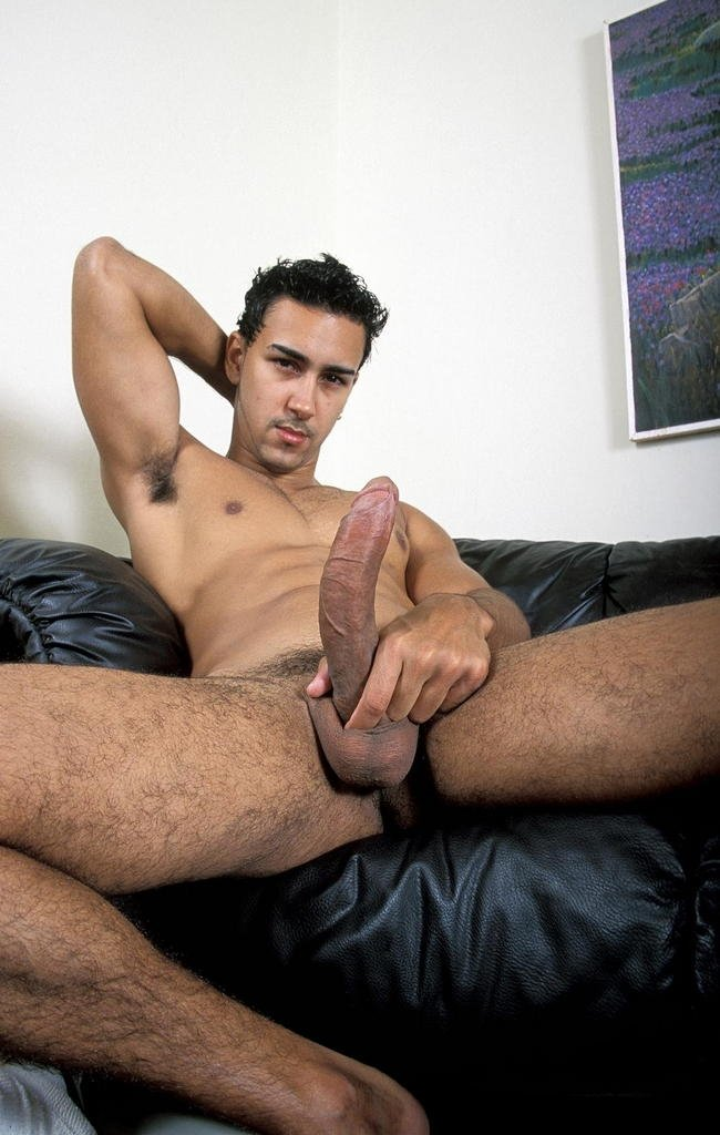 Gay latino sucking big uncut cock