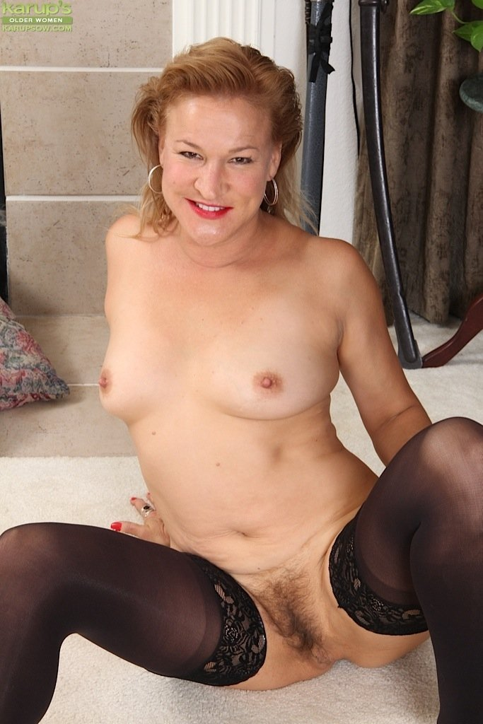 mature wives posing naked there