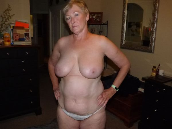 Nude topless granny pictures