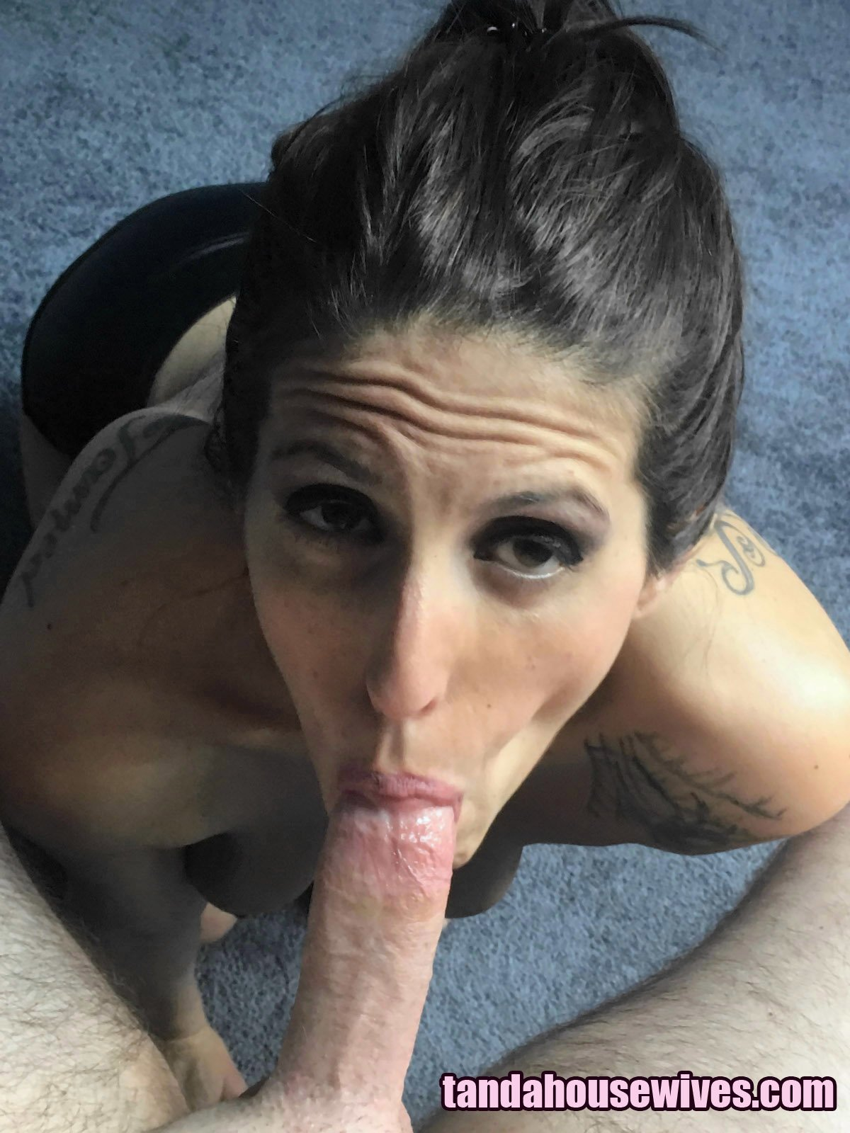 Only3x (Only3x) brings you - Morgan Rain in pigtails gives an epic POV Blowjob