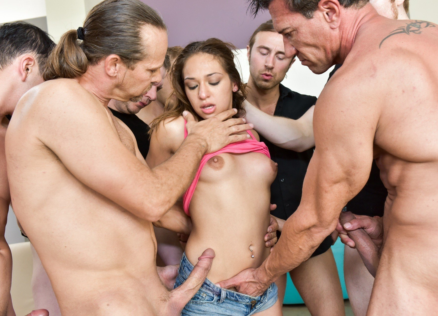 Family group sex party #1