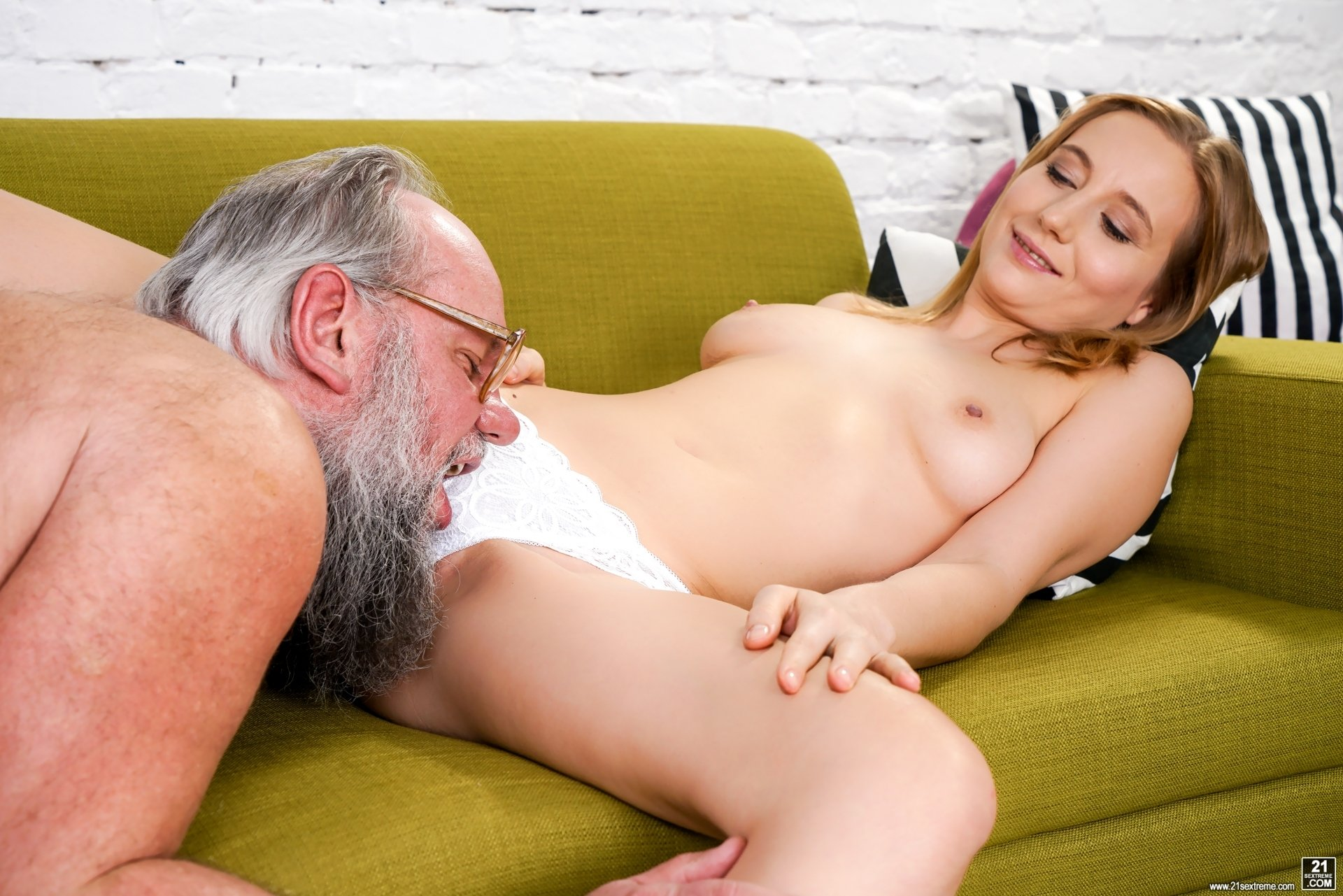 Horny stepsis hops on stepbros face and makes him eat her twat!