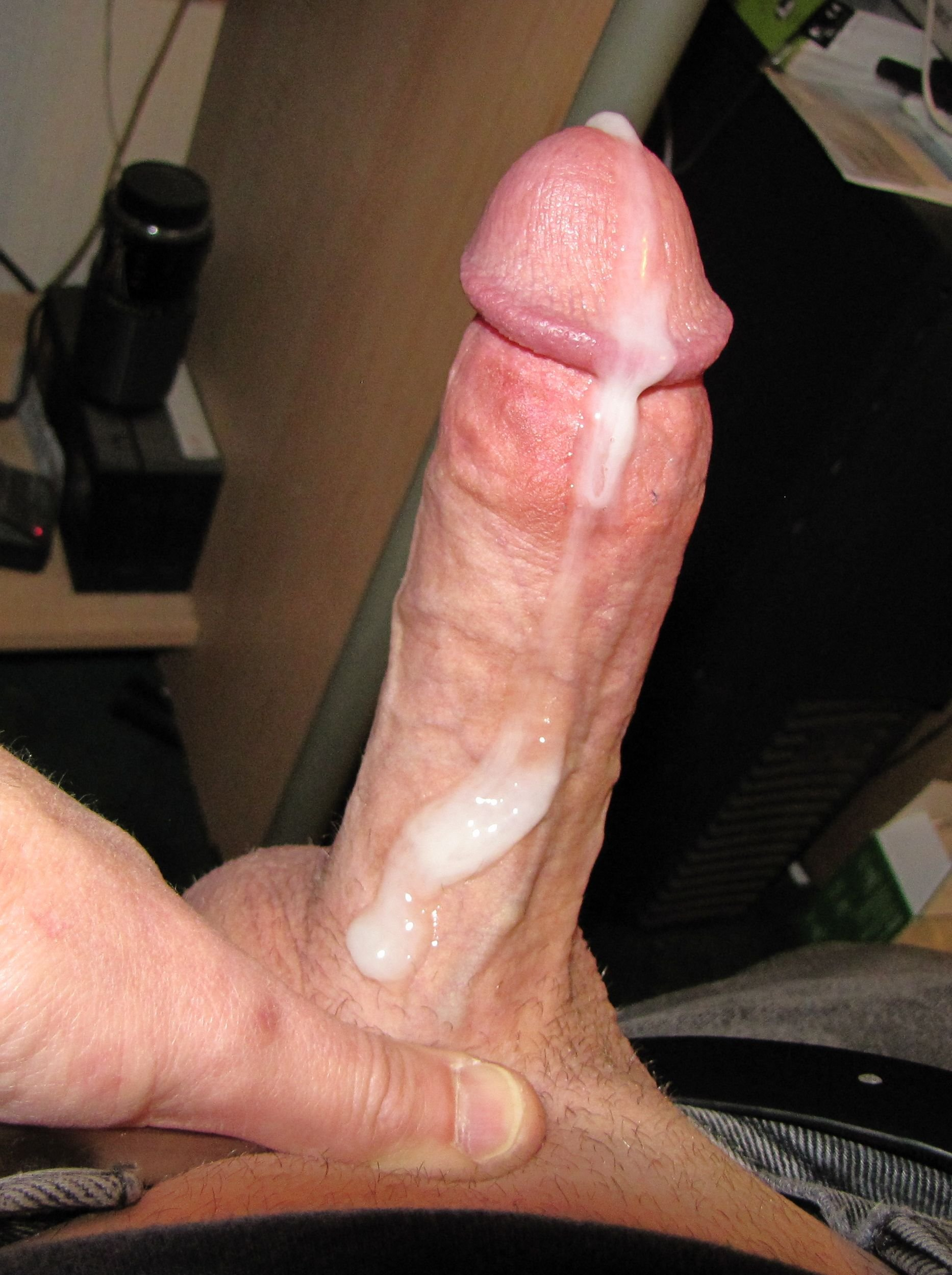 Big hard cock cum