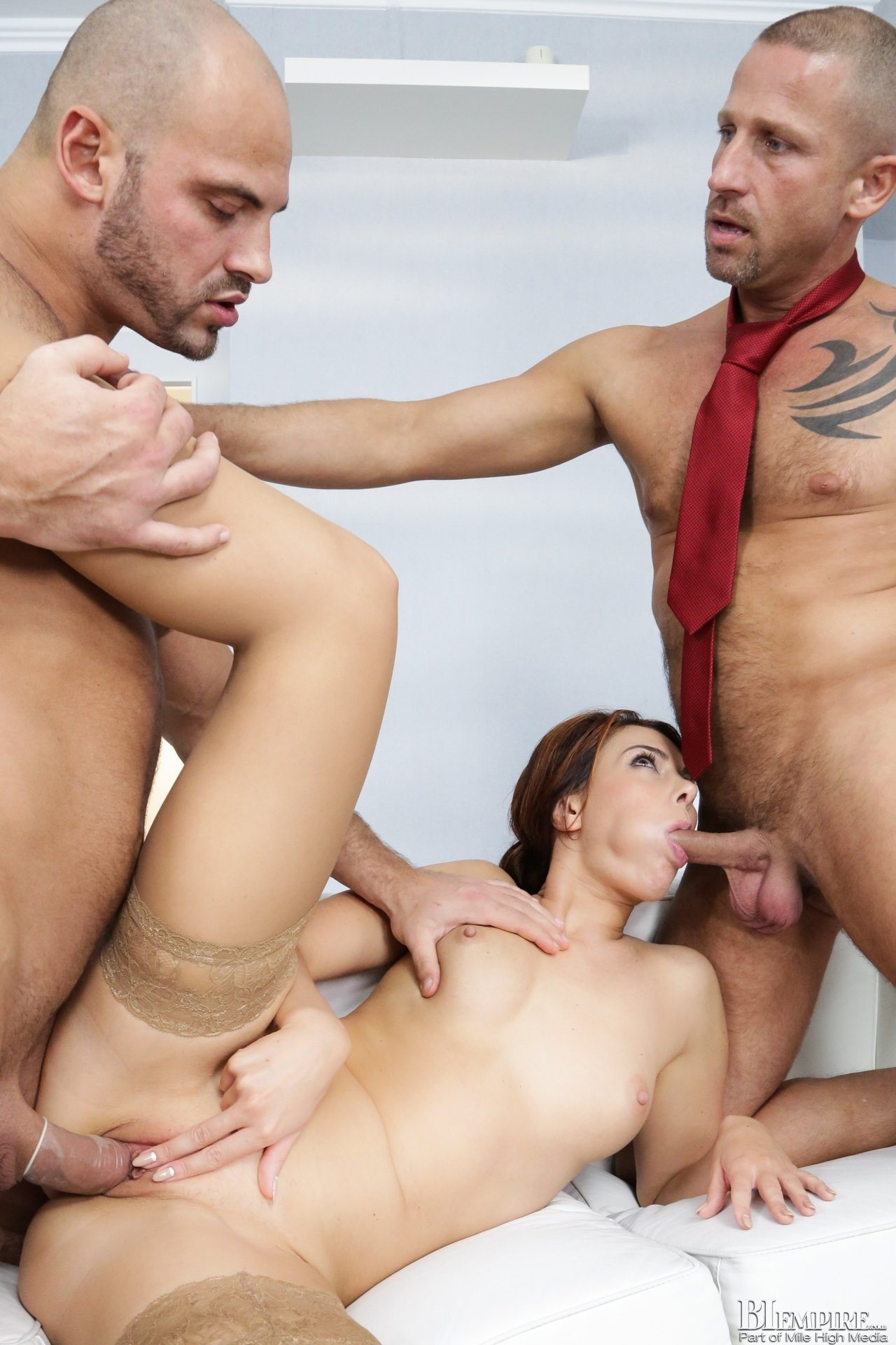 Husband shares wife threesome #16