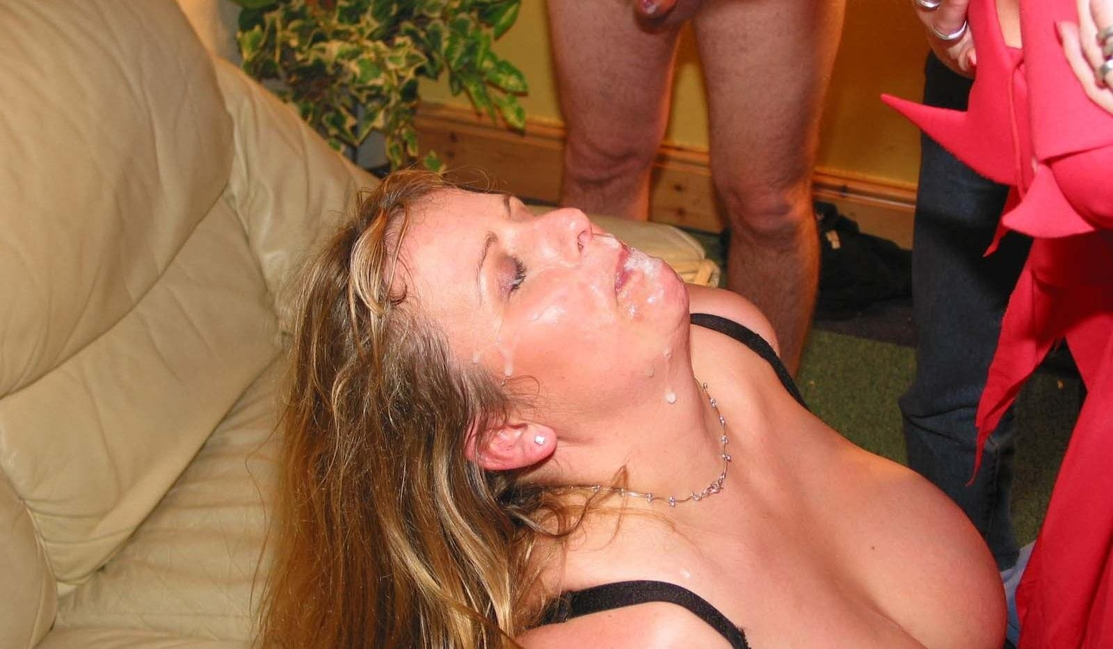 first time anal orgy