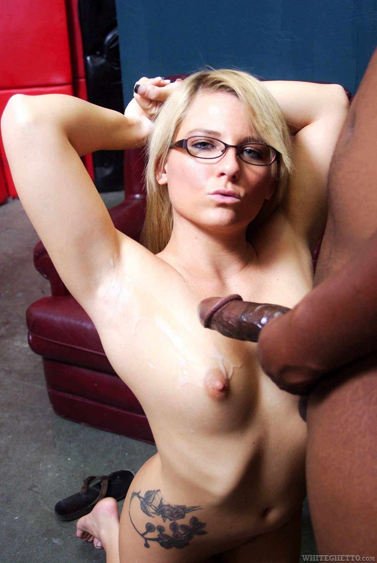 Her first black creampie #15