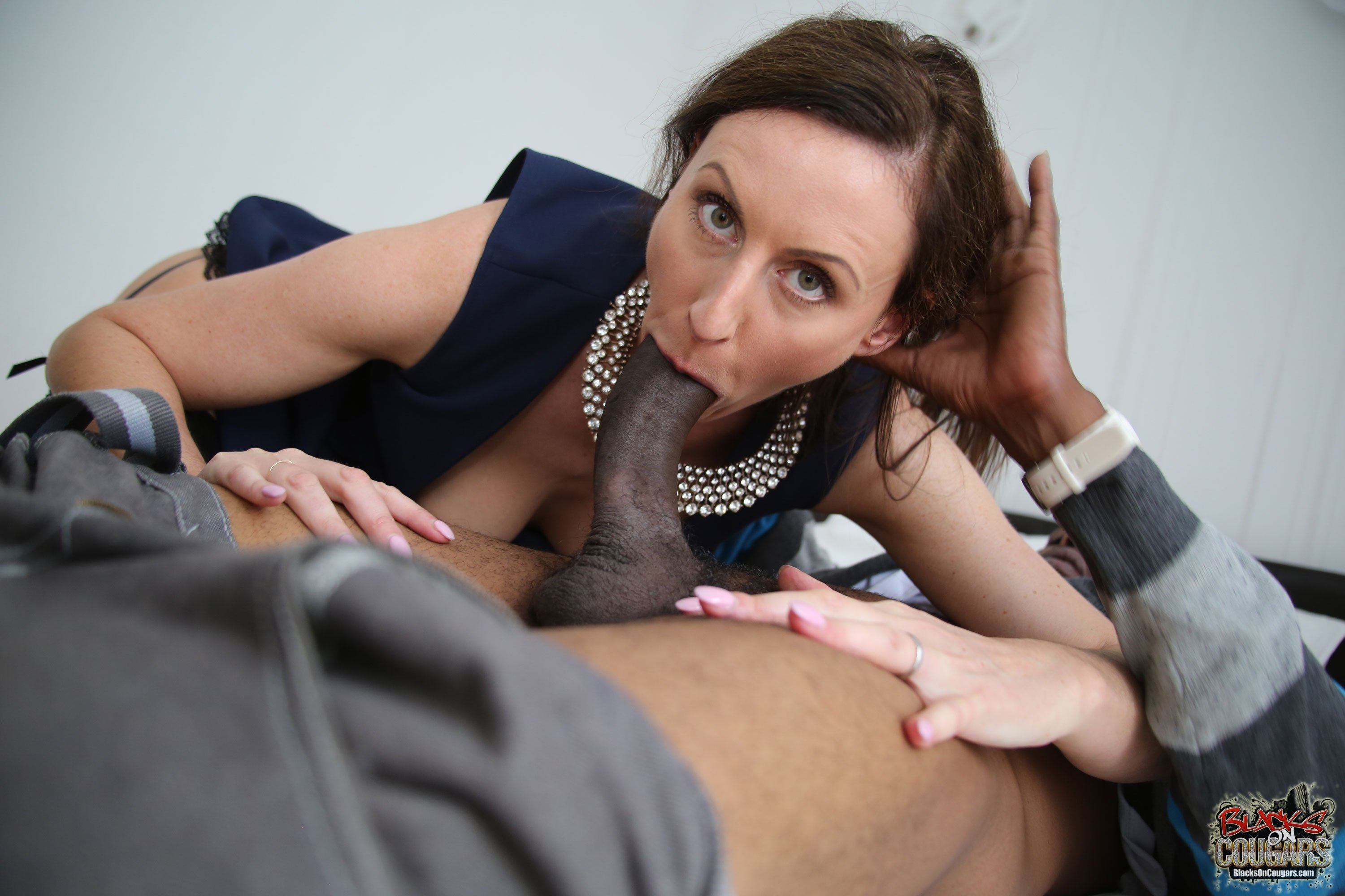 milf in black stocking add photo