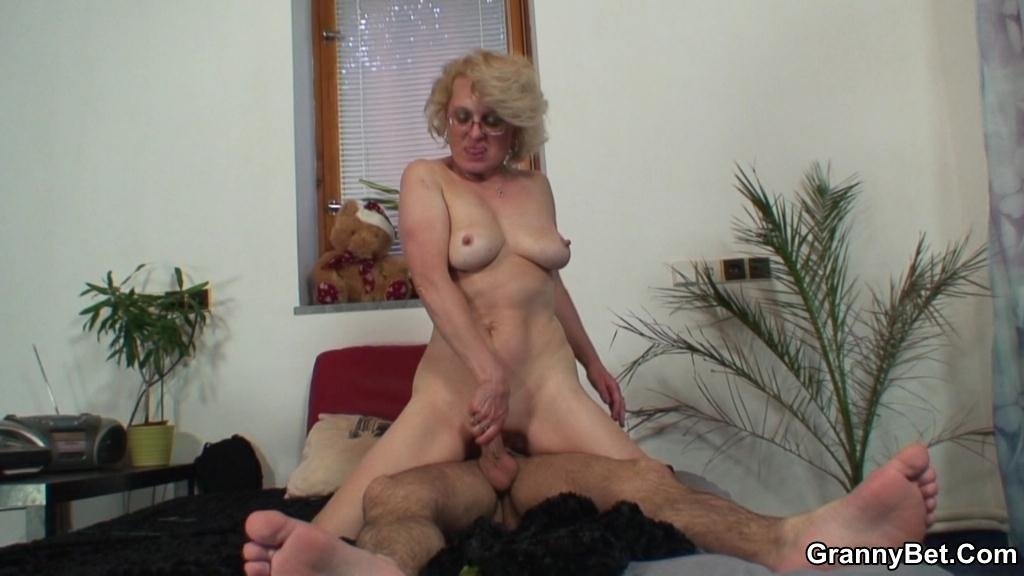 Granny and boy handjob Hard core slut wife