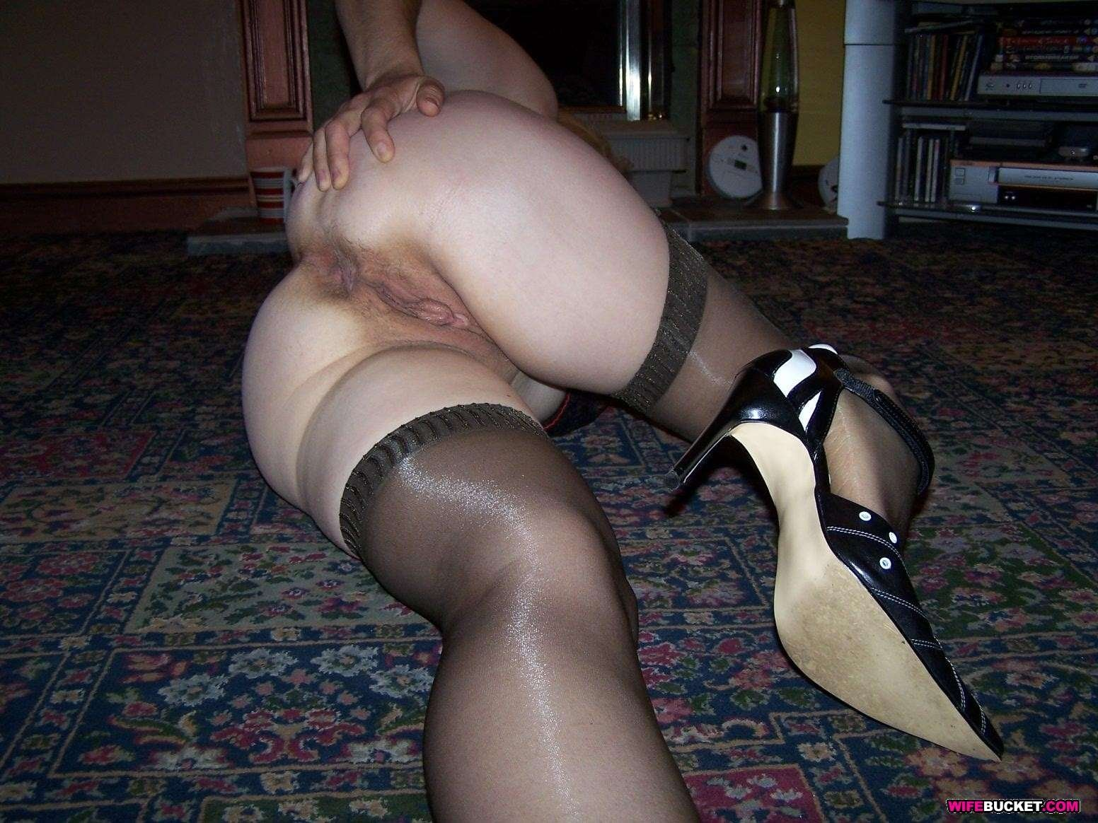 wife with a dildo