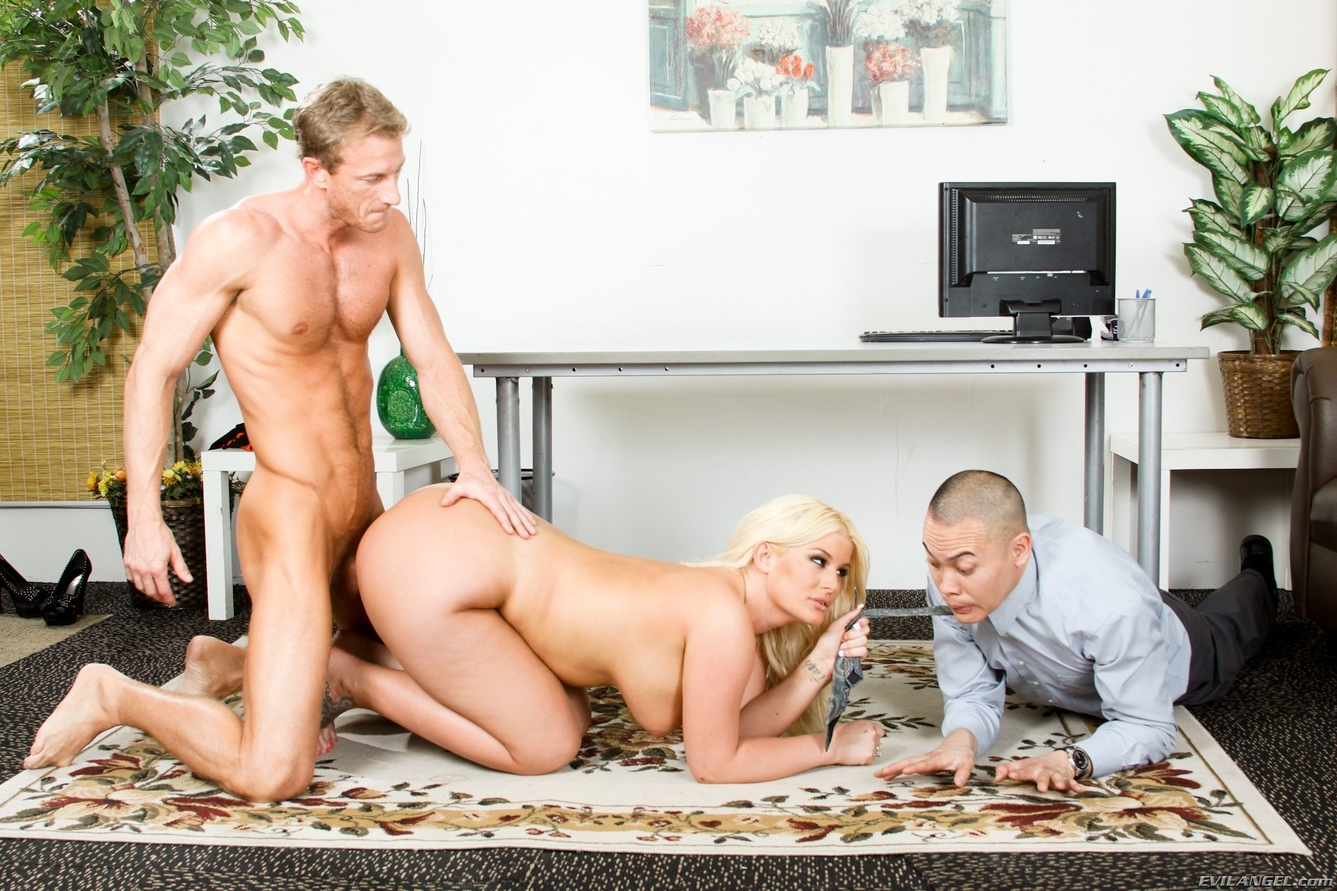 Cory chase fucked by son front of husband