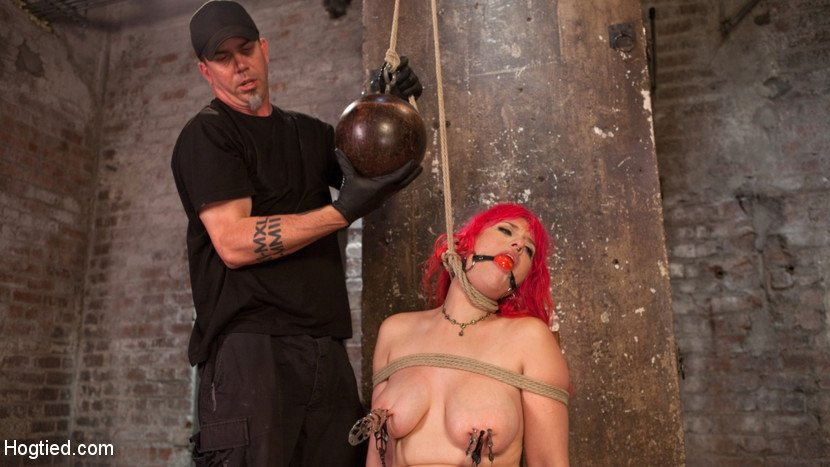 Bondage Breath Control Ass