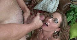 Sexy 60 Year Old Mature Milf Stepmom Fingers Wet Pussy Spreads Wide Closeup