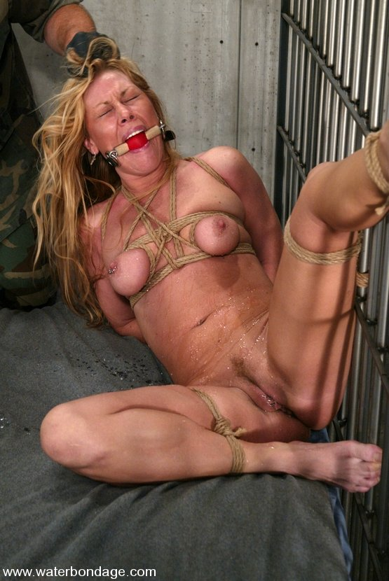 Tied husband get bondage