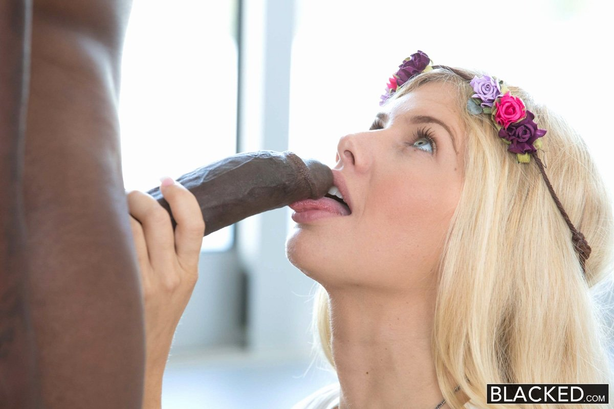 White girl interracial porn Dick in my wife mouth
