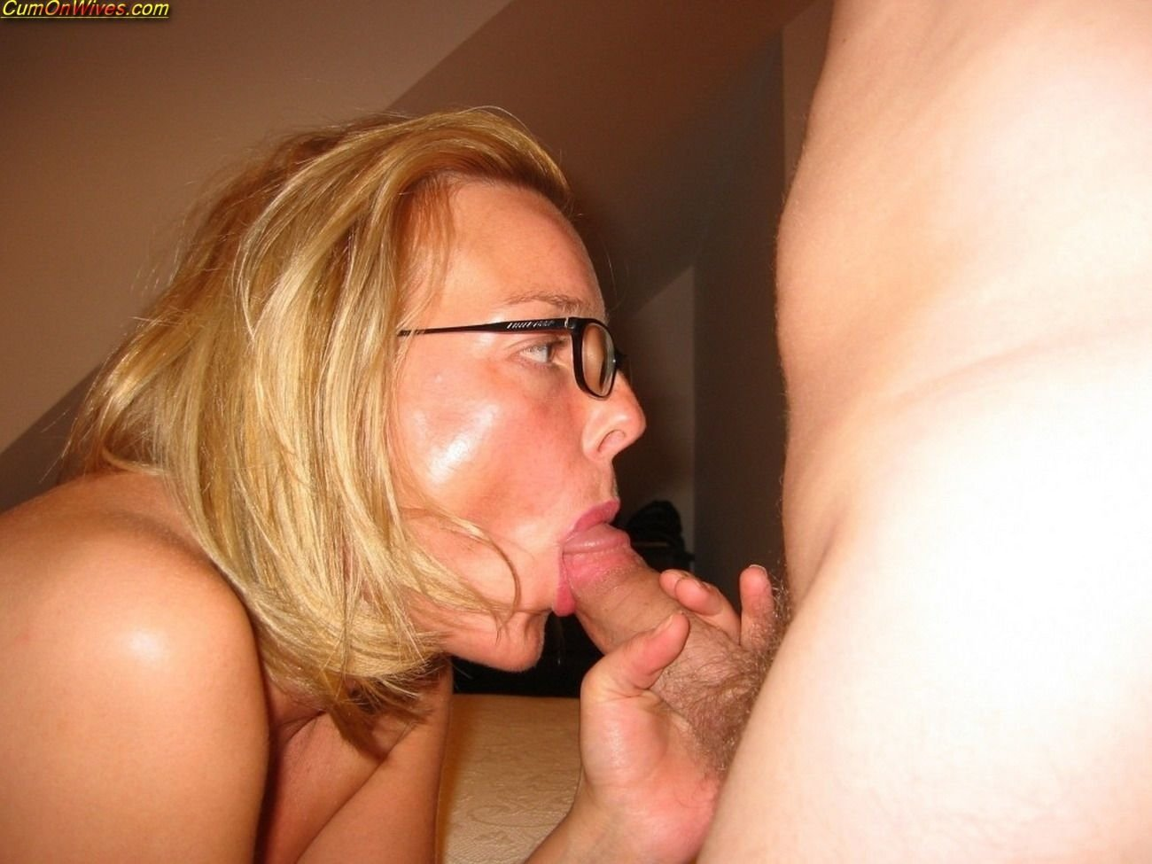 That interfere, amateur mature wife with glasses