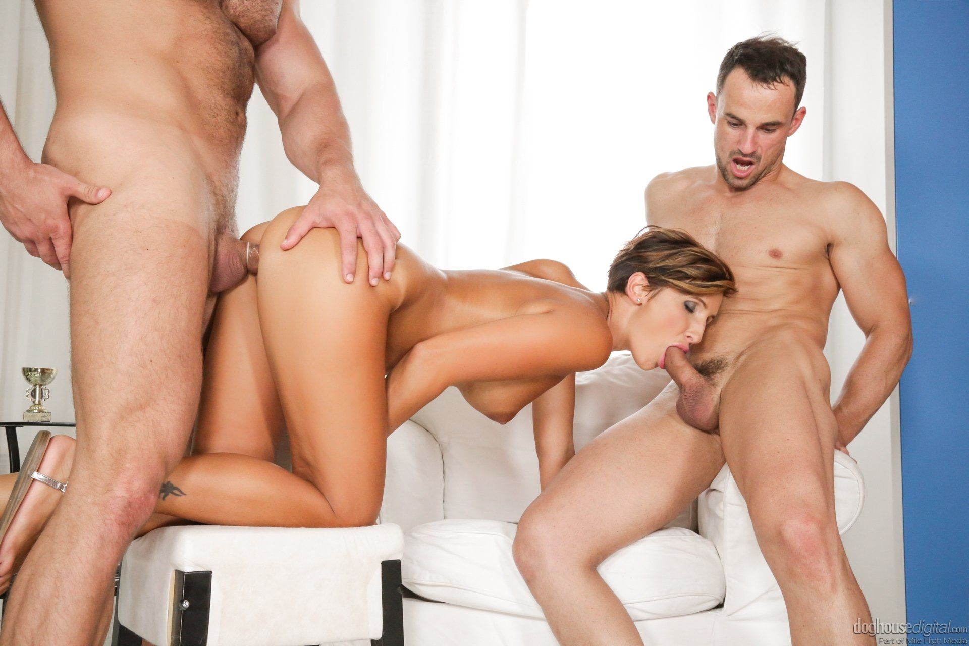 British Mmf Threesome Bi