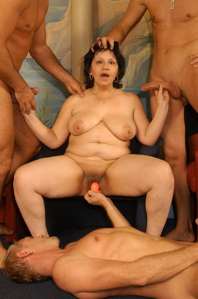 mature amatuer group sex there