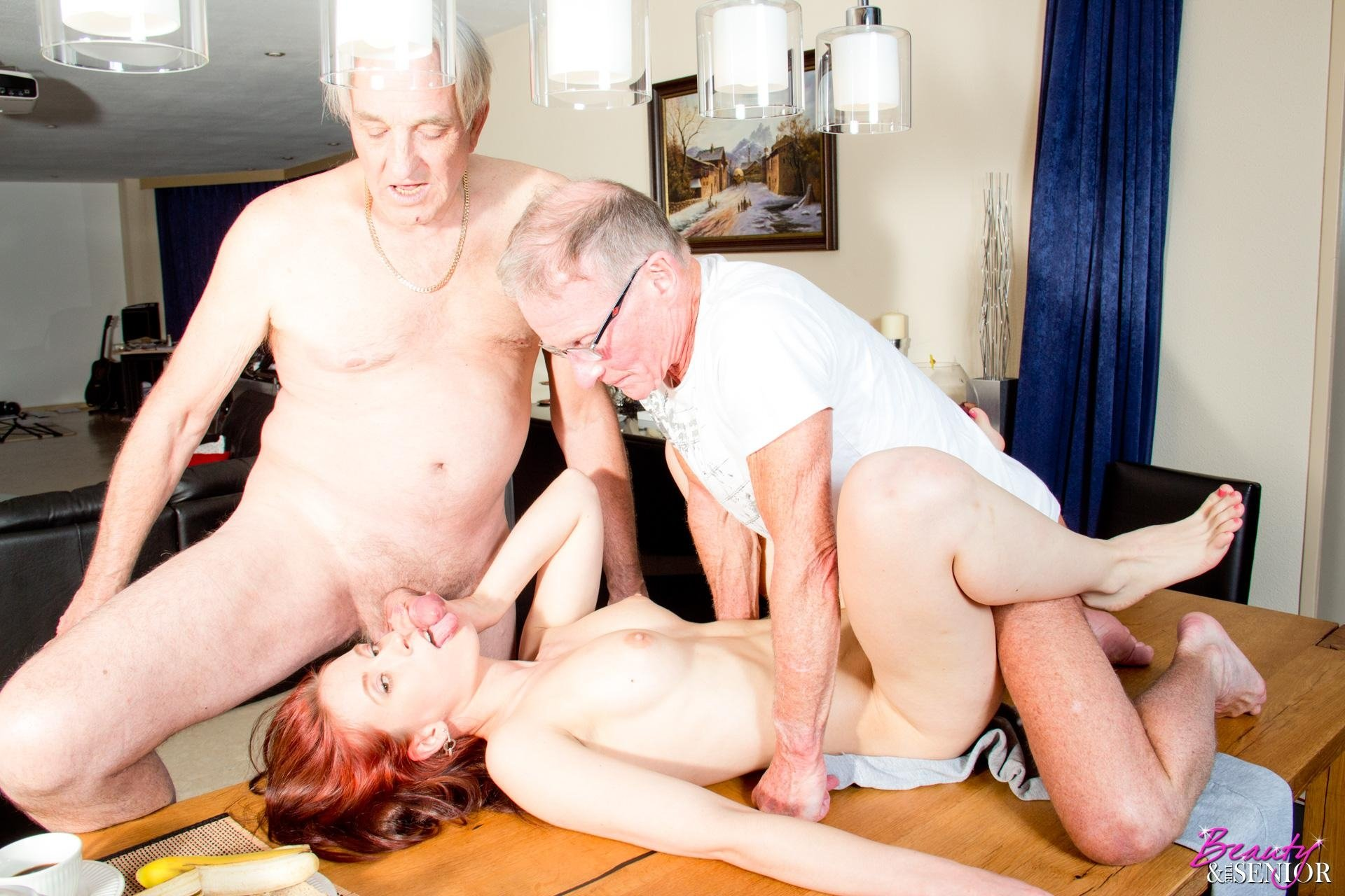 Hardcore sex young and old threesome pussy, pirates sex scene