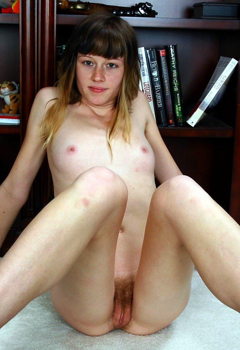 Naked women with little tits #1