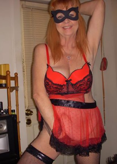 Skinny mature with huge tits #14
