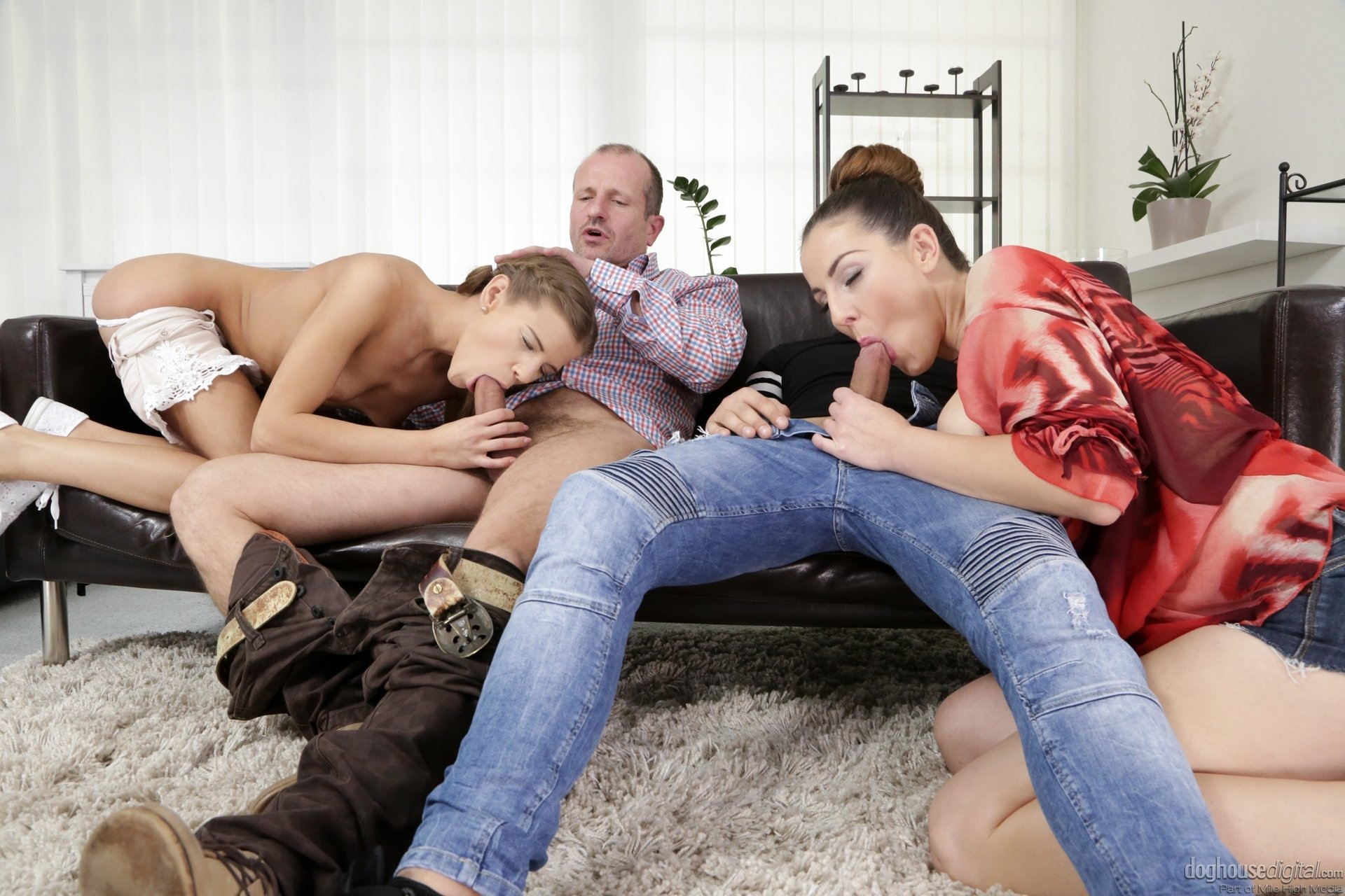 Friends and family porn