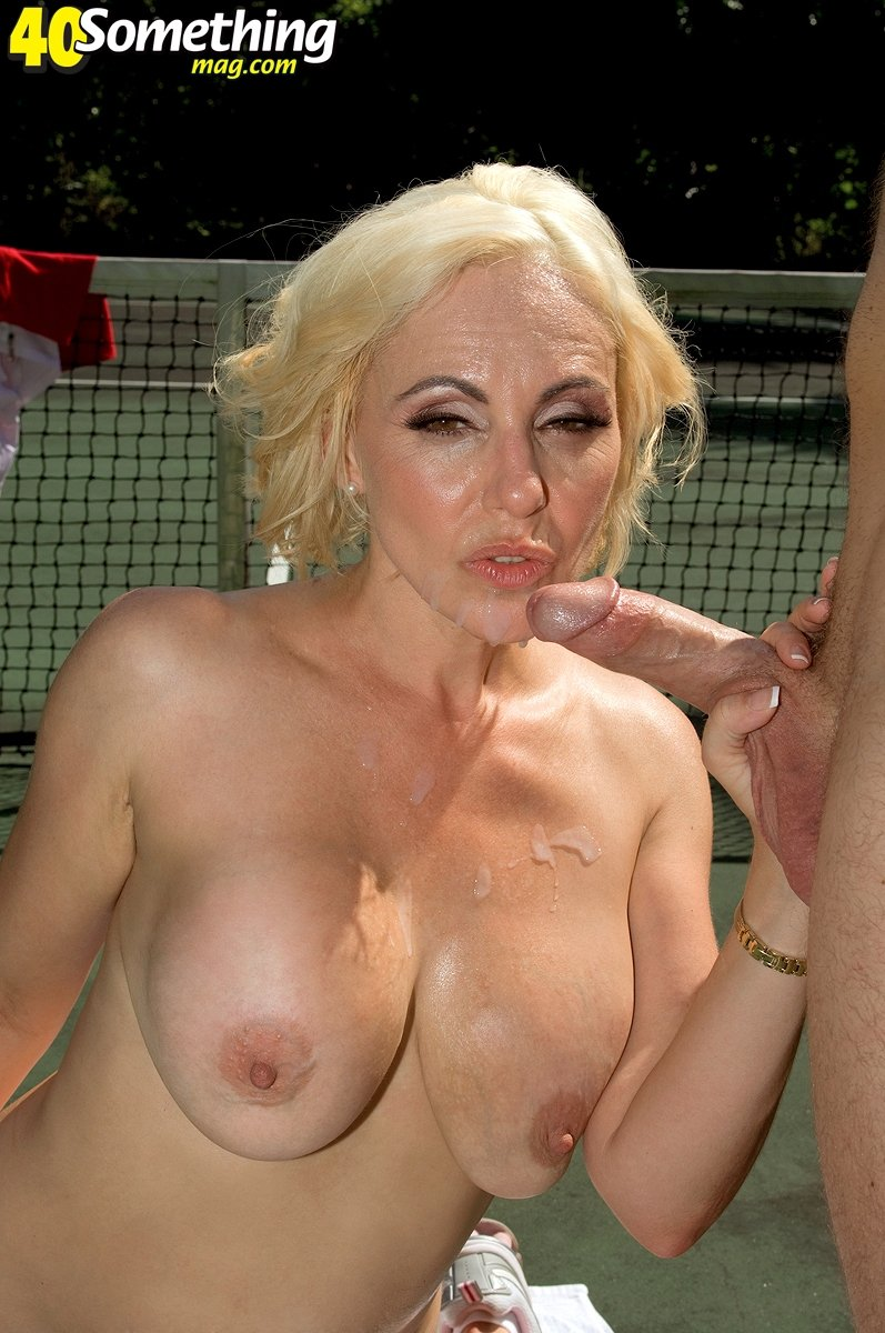 happy naked milf