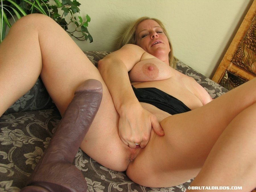 dildo purple brutal Riding