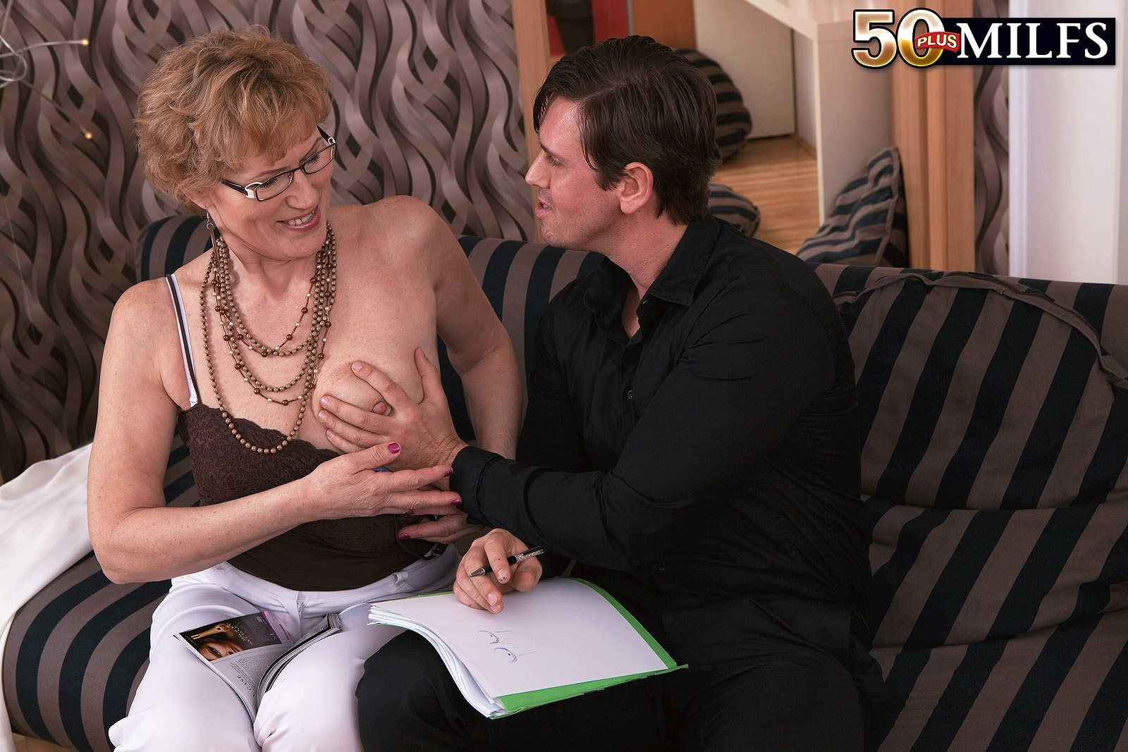 small titty mature there