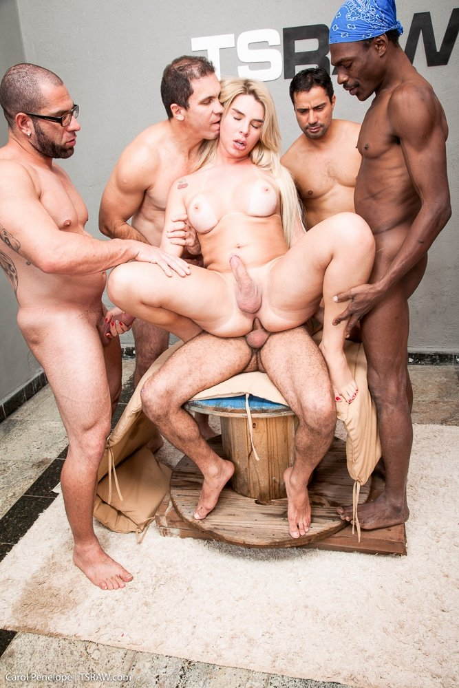 Six Shemales Gangbang Guy Indexxx 1