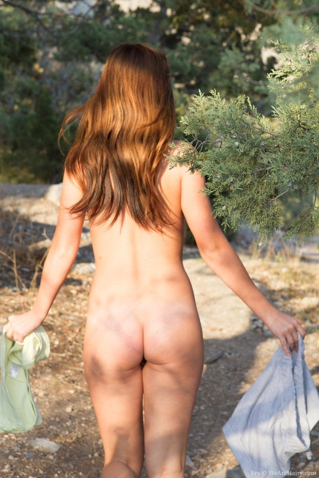 Young virgin nudist