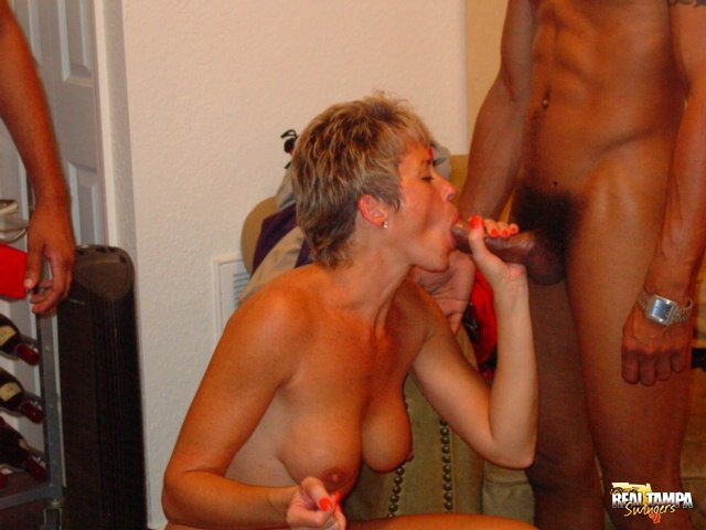 her first swinger party
