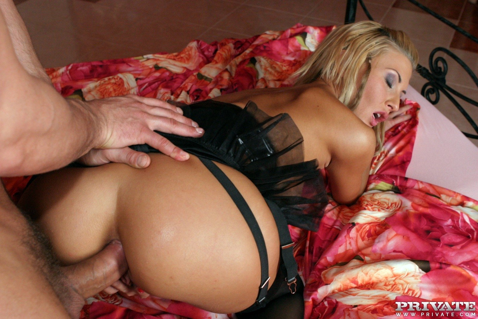Hot MILF loves to ride a black monster 19