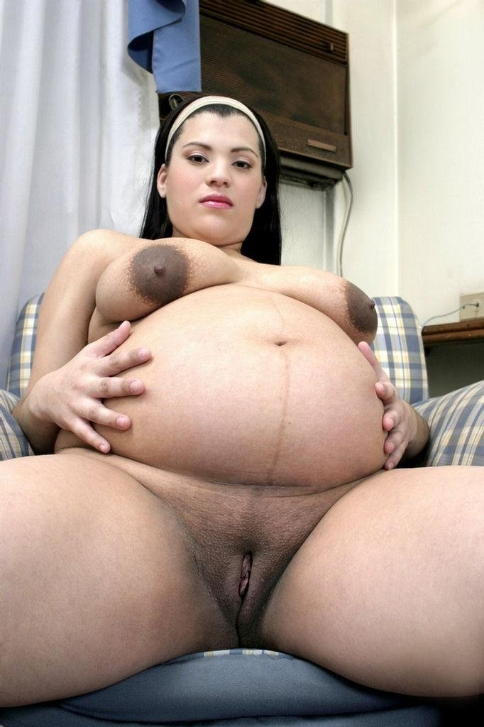 Nice Solo Show With A Beautiful Pregnant Latina Named Loli -6919