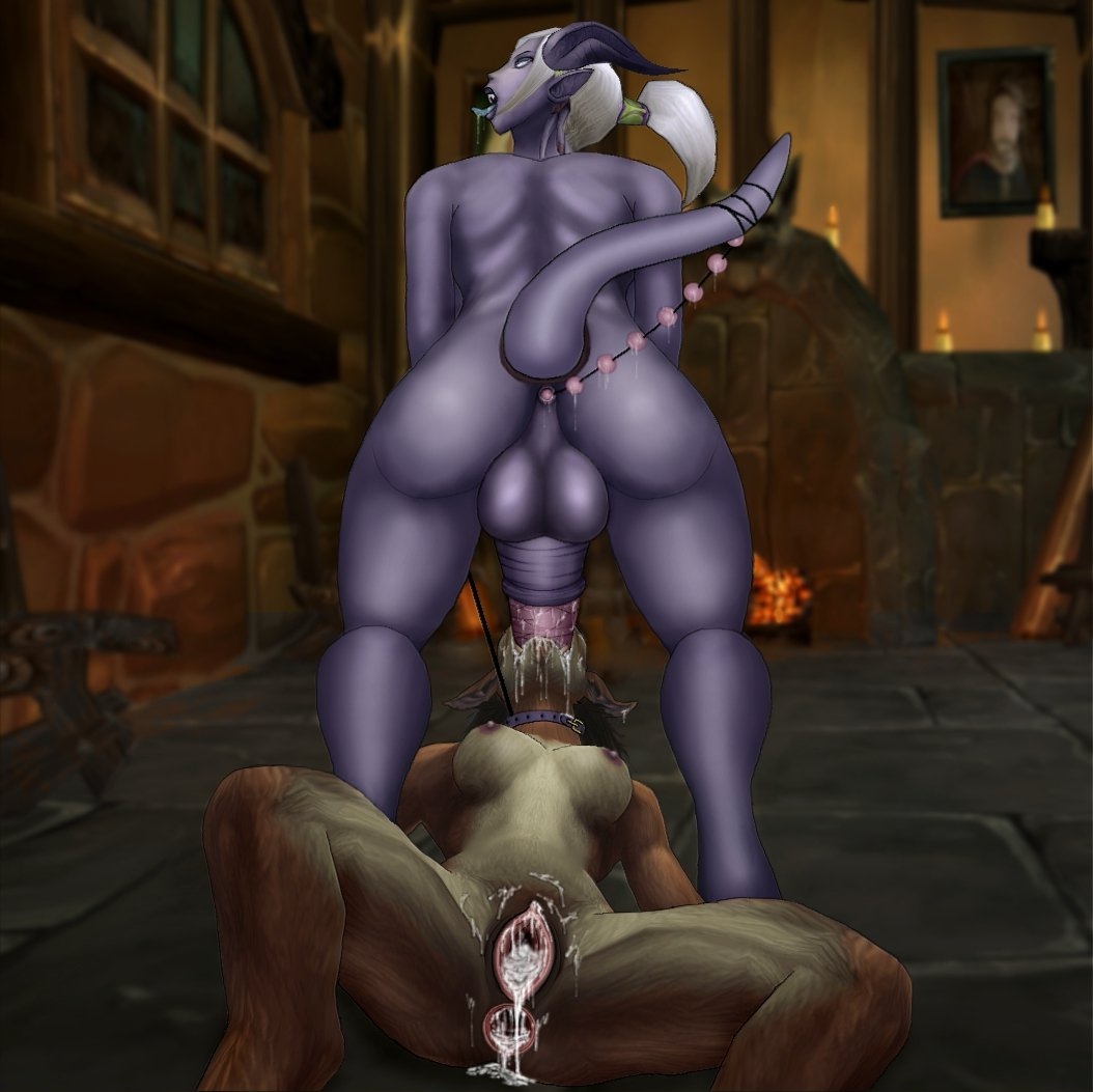 Can World of warcraft female worgen porn talk this